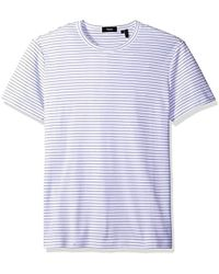 Theory - Gaskell N Lokt Stripe Short-sleeve T-shirt - Lyst