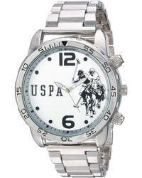 U.S. POLO ASSN. - Analog-quartz Watch With Alloy Strap - Lyst