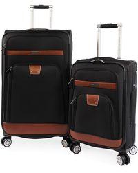 Perry Ellis - 2 Piece Premise Spinner Luggage Set - Lyst