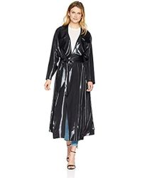 Norma Kamali - Dolman 80's Flared Midcalf Trench - Lyst