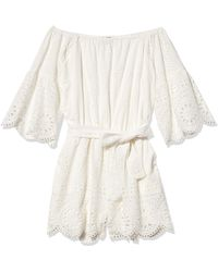 Sperry Top-Sider Off The Shoulder Romper - White