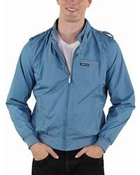 Members Only Original Iconic Racer Jacket - Blue
