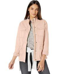 Goodthreads Cargo Cotton Lightweight Jacket - Natural