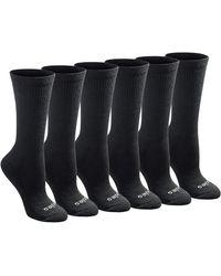 Dickies Dritech Advanced Moisture Wicking Crew Socks - Black