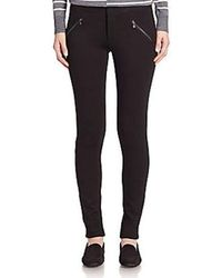 Kensie - Jeans Ponte Dual Front Zipper Pant - Lyst