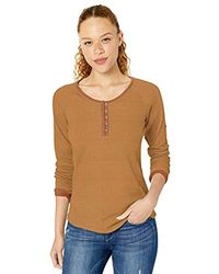 Columbia Times Two Knit Henley - Orange