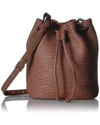 Lyst - Cole Haan Hushed Violet Bethany Single Strap Hobo in Natural c0dd1cb12e7b6