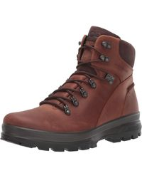 Ecco Rugged Track Plain Toe - Brown
