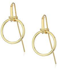 Noir Jewelry - Dock Earrings - Lyst