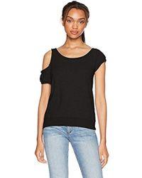 Pam & Gela - Cold Shoulder Sweatshirt - Lyst