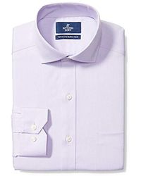 Buttoned Down - Amazon Brand - Tailored Fit Cutaway-collar Solid Pinpoint Dress Shirt, Supima Cotton Non-iron - Lyst
