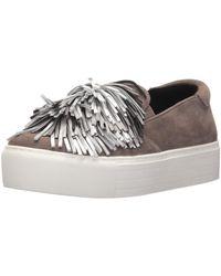 Kenneth Cole Jayson Slip On Platform Sneaker Pom Su Fashion - Multicolor
