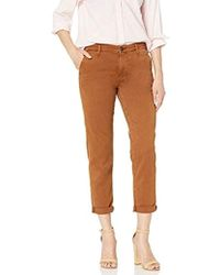 AG Jeans Caden Trouser - Brown