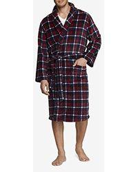 Tommy Hilfiger Cozy Fleece Robe - Multicolor
