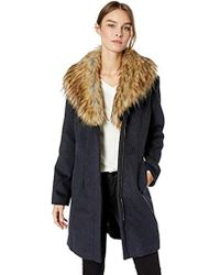 Ellen Tracy Zip Front Coat - Multicolor