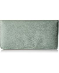 Ecco Jilin Large Wallet - Green