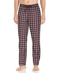 Goodthreads Stretch Poplin Pajama - Red