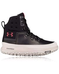 Under Armour Fat Tire Govie Hiking Boot - Black