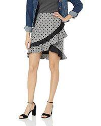 Nicole Miller Dress Mini Skirt - Gray