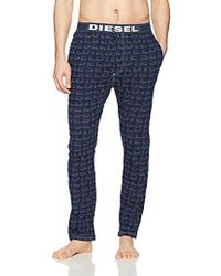 DIESEL - Julio Logo Sleep Pants - Lyst