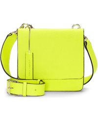 Vince Camuto Silas Small Crossbody - Yellow