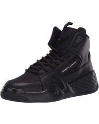 Giuseppe Zanotti Black Hi-top Jupiter Sneakers