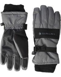 Carhartt Wp Waterproof Insulated Glove - Black
