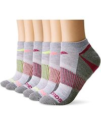 Saucony - 6 Pack Performance No-show Sport Socks - Lyst