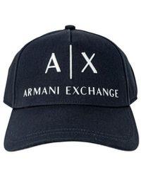 Armani Exchange | Bsebll Ht - Blue