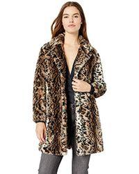 BB Dakota - Bradshaw Leopard Faux Fur Coat - Lyst