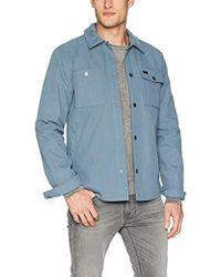 RVCA Utility Shirt Jacket - Blue