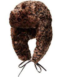 Kangol - Leopard Trapper Hat - Lyst
