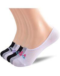 Fila No Show Sneaker Liner Socks - Multicolor