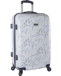 """Tommy Bahama Hardside Luggage Spinner Suitcase, 24"""" - Blue"""