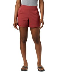 Columbia Anytime Casual Shorts - Red