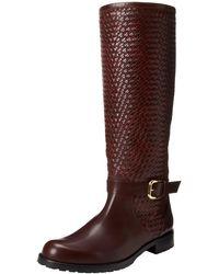 Studio Pollini Brera Riding Boot,brown,37.5 Eu/7.5 M Us