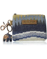 Pendleton Id Pouch With Bear Keychain - Multicolor