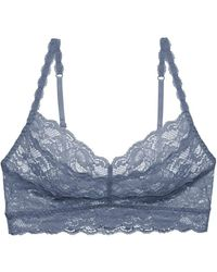 Cosabella Never Say Never Sweetie Soft Bra - Blue