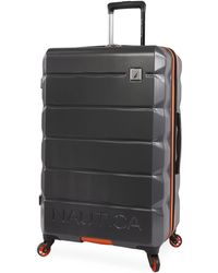 """Nautica Quest Hardside Spinner Check In Luggage 29"""" - Gray"""