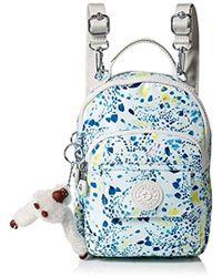 3c14ab8c0d Kipling - Alber 3-in-1 Convertible Mini Bag Printed Backpack - Lyst