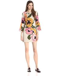 Tracy Reese - Flounce-sleeve Mini T Dress - Lyst