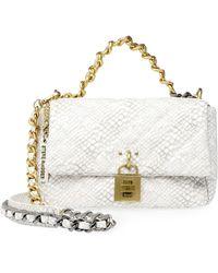 Steve Madden Womens Daisey Top Handle Bag - White