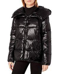 Rachel Roy Light Puffer Jackets - Black