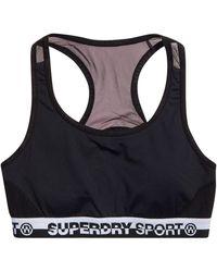 Superdry Core Layer Bra Bra - Black