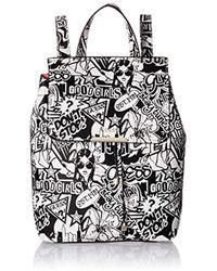 Guess - Varsity Pop Graffiti Backpack - Lyst