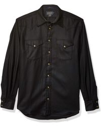 Pendleton - Size Long Sleeve Button Front Tall Canyon Shirt - Lyst