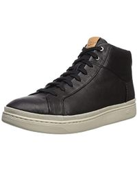 UGG - Cali Lace High Leather Sneaker - Lyst
