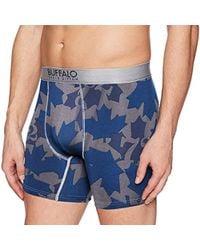 NWT Buffalo David Bitton Men/'s Boxer Brief Stretch Polyester Spandex Printed