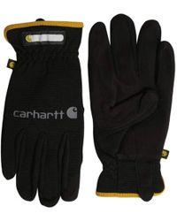 Carhartt - Work Flex Spandex Work Glove With Water Repellant Palm - Lyst