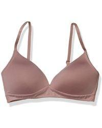 Lucky Brand Wire-free Comfort Bra - Pink
